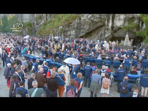 Messe de 10h à Lourdes du 17 septembre 2021