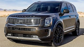 2020 Kia TELLURIDE – Kia's New 7 and 8 Seater Family SUV