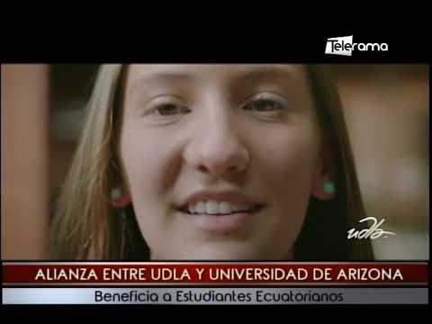 Alianza entre UDLA y Universidad de Arizona beneficia a estudiantes ecuatorianos
