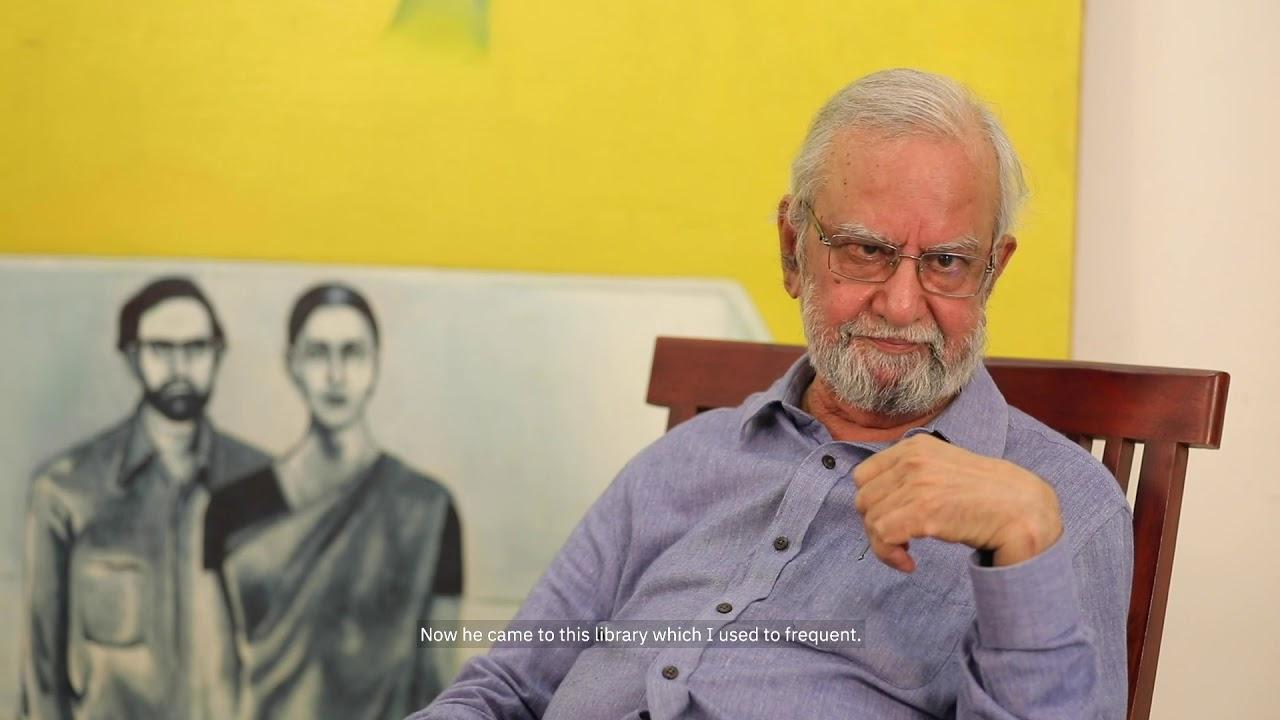 Living Art: Gulammohammed Sheikh in Conversation with Vasudevan Akkitham