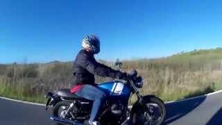 6. Moto Guzzi V7 Special 2016 Prueba (with subtitles in English)