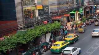 2013 Streets Around Platinum Fashion Mall Bangkok Thailand HD