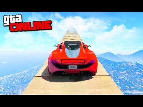 БЕЗУМНЫЕ ГОНКИ СО СКОРОСТЬЮ САМОЛЕТА ПО ТОНКИМ КАНАТАМ И ТРУБАМ В GTA 5 ONLINE (видео)