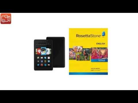 Rosetta Stone English (British) Level 1-5 Set [Download] with Fire HD 6 B018YJAIVY video reviews