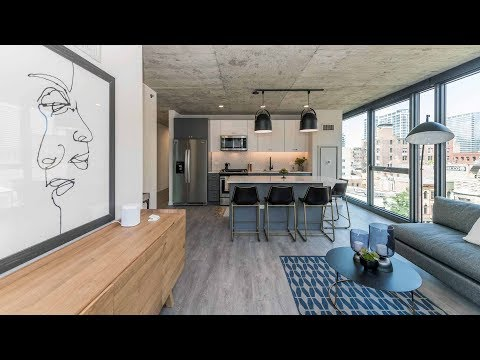 A 2-bedroom model at Marlowe, River North's newest apartments