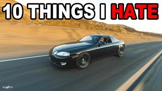 10 Things I HATE about my Lexus SC300 by Evan Shanks