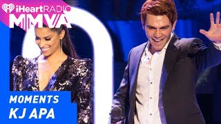 Riverdale's KJ Apa an Lilly Singh introduce the final performance of the night. SUBSCRIBE: http://bit.ly/2lz40rs --- Twitter: ...