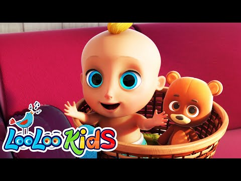 Peek-a-Boo Song - LooLoo Kids Nursery Rhymes for Kids