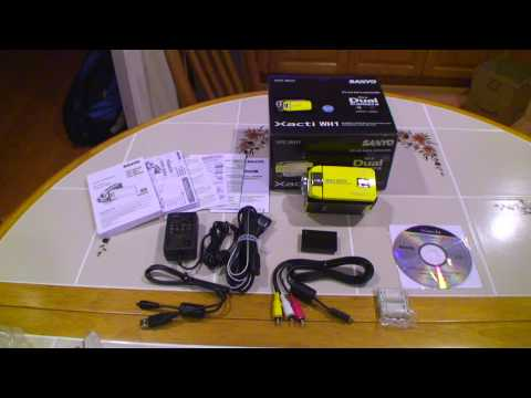 Sanyo Xacti VPC-WH1 720p HD UNBOXING Part 2