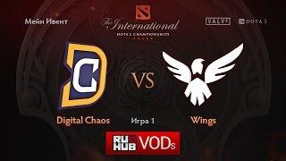 DC vs Wings, game 1