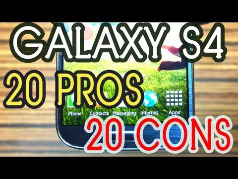 Samsung Galaxy S4 PROS and CONS [Must Watch] by Gadgets Portal