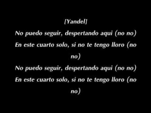 Wisin y Yandel Con Enrique Iglesias Lloro Por Ti Con Letra