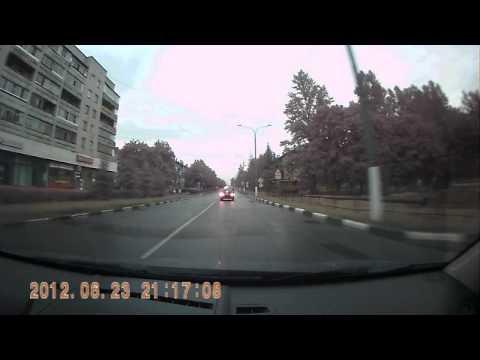 Обгон на перекрёстке