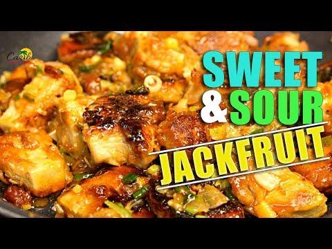 Sweet and Sour Jackfruit