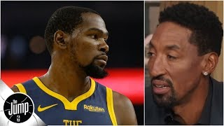 Kevin Durant just needs to deal with media criticism - Scottie Pippen | The Jump