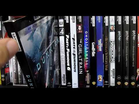 My Entire 4k Ultra Hd BLURAY Collection! - 1/18/18 - EPIC Collection UPDATE!