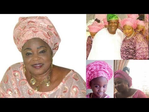 WATCH Yoruba Actress Yetunde Wunmi, Her Husband, Children And 10 Things You Never Knew