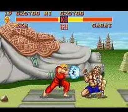 Street Fighter 2 - Street Fighter II - The World Warrior - SNES.