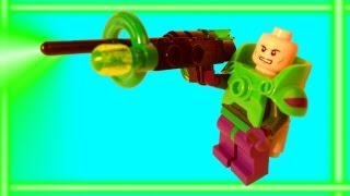 Animated LEGO Power Armor Lex Luthor Promo Minifigure LEGO Super Heroes Stop Motion Review