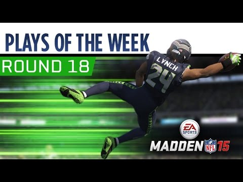 18 - Check out these hot Madden 15 Plays of the Week! Think you have a better play? Submit them here: http://bit.ly/1tQenrB Subscribe for more Madden NFL videos: http://youtube.com/easports.