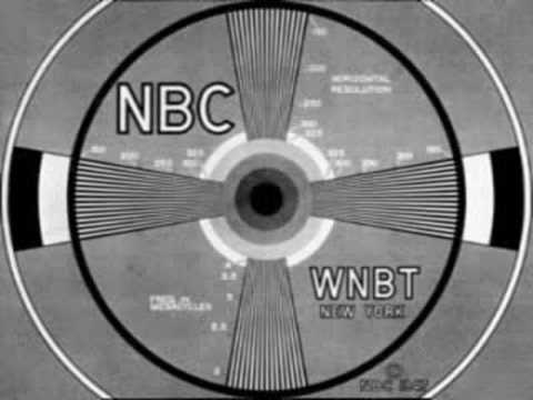 WNBT - I found the test card on the Internet and generated the 1000 Hz tone using Audacity.