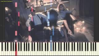 Loboda (Лобода) - К чёрту любовь(Пример игры на пианино) (piano cover)