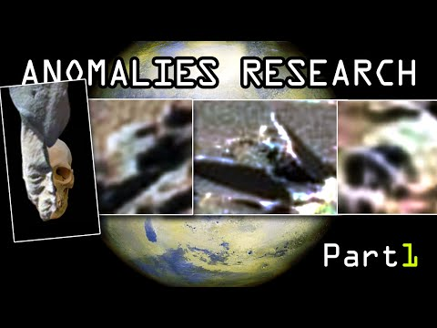 Mars anomalies research. BEST COMPILATION