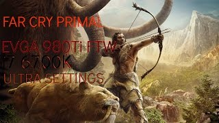 Time to see how Far Cry Primal runs on my rig.. This was shot at 1440p on the highest graphic settings available. EVGA Precision X is also running to show you all the usage.Watch in 1440p for best results.Follow me on twitter for more updates! http://twitter.com/Adam14xFan me on Facebook for more updates! http://facebook.com/Adam14xGot a request? Send it to me - Adam14x@gmail.comLike pranks? Check out my prank call channel: http://youtube.com/PrankModeOnMy Build:Intel Core i7 6700K Skylake @ 4.0 GhzCorsair H110i GTXSamsung 950 PRO M.2 SSDCorsair Force 3 120GB SSD16GB Corsair Vengeance LPX DDR46GB EVGA 980Ti FTW  Asus Maximus Hero VIII Antec 1000wKeyboard and Mouse:Razer BlackWidow ChromaRazer Naga 2014Headset:Corsair Vengeance 2100Mouse:Razer NagaKeyboard:Razer Black Widow ChromaMouse Mat: Razer Firefly