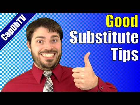 How to be a Good Substitute Teacher || Good Tips for Good Subs