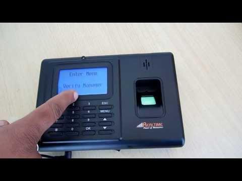 Biometric Fingerprint Thumb RFID Password based Realtime T6 by Navkar Systems www.navkarsys.com
