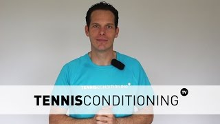 Knowing your 1 repetition maximum is very important for programming purposes so you can train effectively and maximize your performance potential. Get more information on why it's important, how to calculate it, including an example, and how to predict exercise intensities: http://www.tennis-conditioning.com/2011/12/how-to-predict-exercise-intensity-the-1-repetition-maximum/Like the shirt? Get it at http://www.StyleConditioning.com Connect with Philipp Halfmann: http://www.PhilippHalfmann.com CONNECT WITH TENNIS CONDITIONING TV- Visit our BLOG: http://www.tennis-conditioning.com- Subscribe to Tennis Conditioning TV: http://www.youtube.com/subscription_center?add_user=TennisConditioningTV- Like us on FACEBOOK: https://www.facebook.com/TennisConditioningTV- Follow us on TWITTER : https://twitter.com/TennisCondiTV- Website: http://www.TennisConditioning.TV- YouTube Channel Page: https://www.youtube.com/TennisConditioningTV- Google+: http://www.google.com/+TennisconditioningTv_Page- Pinterest: http://www.pinterest.com/tennisconditvABOUT USwww.Tennis-Conditioning.tv provides coaches and athletes with educational content, blog posts, news articles, videos, pictures and images. We are passionate about delivering thought provoking tennis-specific news and teaching people how to do something or explaining to them why something is beneficial to them because we believe in the notion that knowledge is power. We don't like to advocate something we don't believe in. We desire to share our thoughts, it's not illegal yet, and hence enable a worldwide audience to benefit as well.Featured Tennis Conditioning TV episodes include:- Professional Tennis Training Session with Alexander Ritschard (http://youtu.be/9EnfIt739pU)- How Flexibility Impacts OnCourt Performance (http://youtu.be/HFTfuzOBKnI)- Why Core Training for Tennis Players is Important (http://youtu.be/6HHGX62GVcw)- Why Jogging is a Waste of Time for Tennis Conditioning (http://youtu.be/Sxb6zuWoCN4)- The Purpose of Athletic C