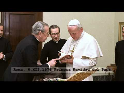 Jean-Paul II et don Alvaro