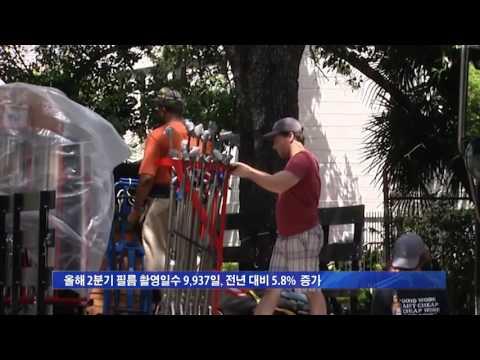 '할리우드의 부활' LA 촬영 증가 7.12.16 KBS America News