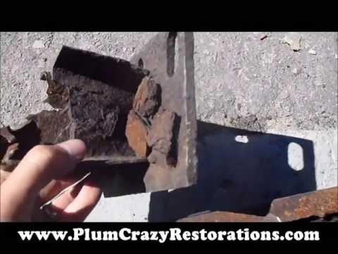 1974 Mercury Cougar Rear Bumper Repair