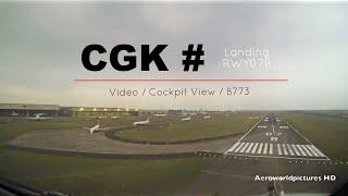 Video Landing at JAKARTA Soekarno Hatta Intl airport (CGK/WIII) - Indonesia MP3, 3GP, MP4, WEBM, AVI, FLV November 2018