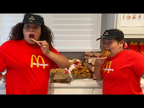 We OPENED Our Own McDONALD'S At HOME!!