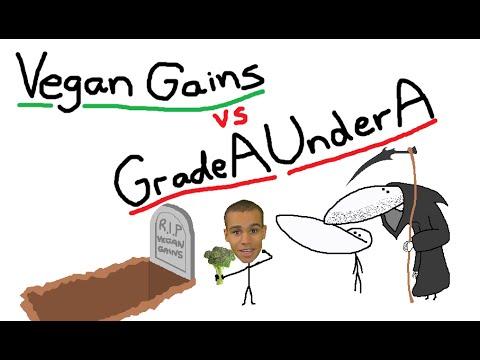 Vegan Gains vs GradeAUnderA