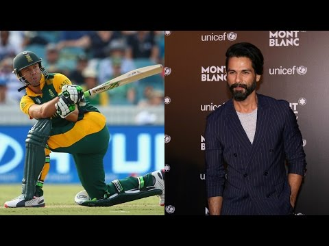 I'm Huge AB de Villiers Fan | He Is New Age Cricketer: Shahid Kapoor