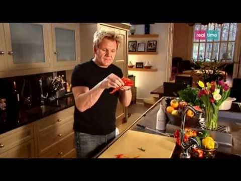 i consigli di ramsay: i peperoni e le uova