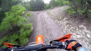 8. Rocking the KTM 350 XC-F on two track trails - Episode 161