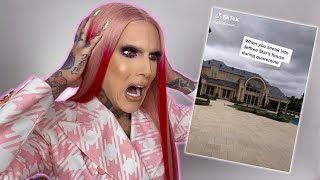 Reacting To Tik Toks About Me (They Broke In!) by Jeffree Star