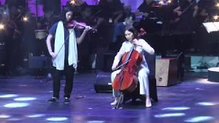 Video Wouw...ternyata  Veronica Tan(istri ahok) mahir memainkan alat musik Cello di operet Aku Anak Rusun MP3, 3GP, MP4, WEBM, AVI, FLV Januari 2018