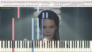 Первая Любовь - Любовь Последняя - Аллегрова & Слава (Ноты и Видеоурок для фортепиано) (piano cover)