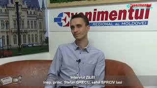 Interviul ZILEI-invitat: insp. princ. Stefan GRECU, șeful SPCRPCÎV Iași