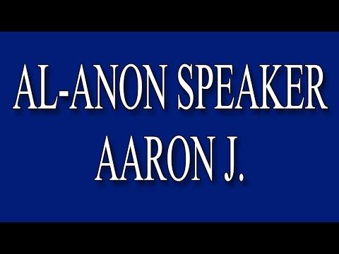 Aaron J. Al-Anon Speaker