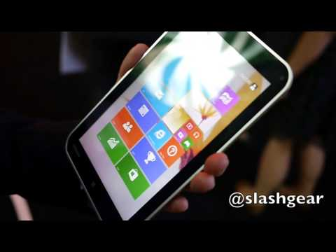 Toshiba Encore Windows 8.1 tablet hands-on
