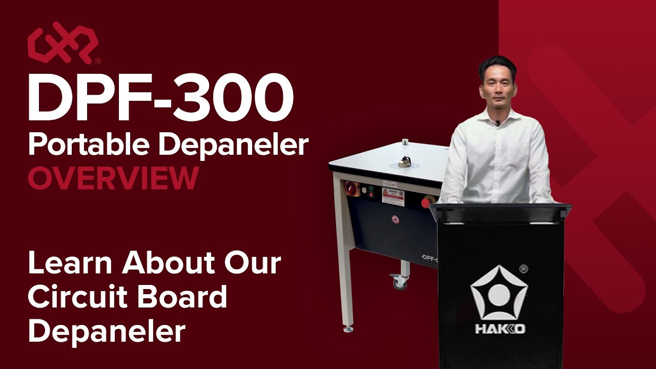 The CHP DPF 300 Depaneling System — Presentation Video —  CHP Sales and Service by American Hakko