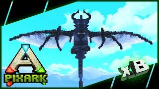 Ghost Dragon & Soul Reaper Tames! :: PixARK Multiplayer :: E06