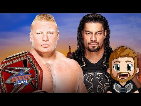 WWE SUMMERSLAM (2018) LIVE STREAM LIVE REACTIONS WATCH PARTY