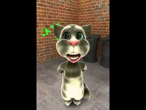 Talking Tom just saying HELLO
